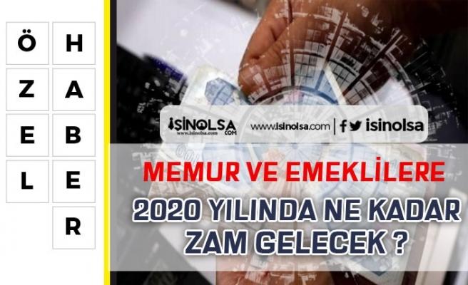 2019'da Memurlara Yapılan Zamlar Açıklandı! 2020'de Ne Kadar Zam Olacak?