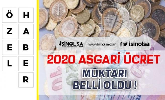 2020 Asgari Ücret Rakamı Belli Oldu! Hükümetin teklifi Ne Kadar?