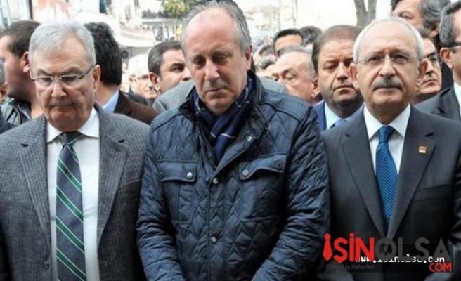 Baykal ve Kılıçdaroğlu Muharrem İnce'in Cenazesine Katıldı!