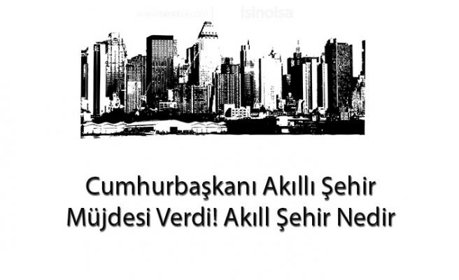 Cumhurbaşkanı Müjdeledi! Akıllı Şehir İnşa Edilecek, Akıllı Şehir Nedir?