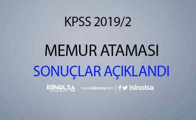 KPSS 2019/2 Merkezi Yerleştirme Sonuçları Açıklandı!