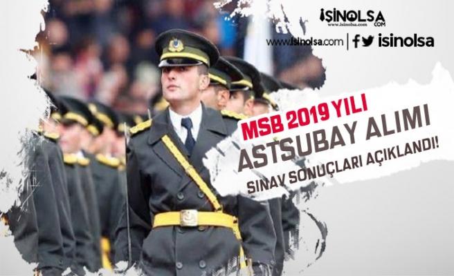 MSB PERTEM'de 2019 Yılı Astsubay Alımı Yazılı Sınav Sonuçları Açıklandı!