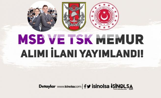 MSB ve TSK Memur Alım İlanı Resmi Gazete'de Yayımlandı!
