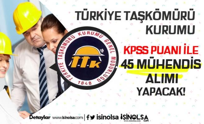TTK 399 Sayılı KHK'ya tabi Sözleşmeli 45 Mühendis Alımı Yapacak!