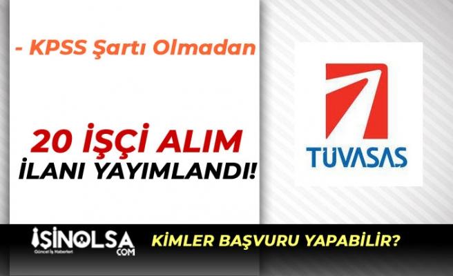 Türkiye Vagon Sanayii ( TÜVASAŞ ) İŞKUR İle Lise Mezunu 20 İşçi Alacak