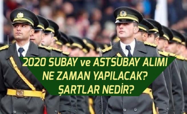 2020 Subay ve Astsubay Alımı Ne Zaman Yapılacak? Şartlar Nedir?