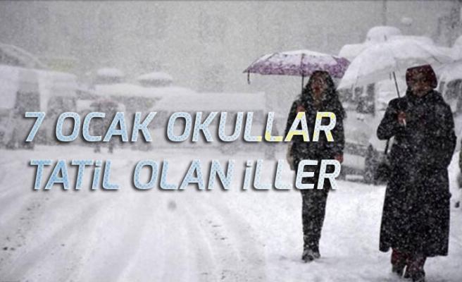 Ankara, İstanbul 7 Ocak Okullar Tatil mi? Valilikten Yapılan Açıklamalar!