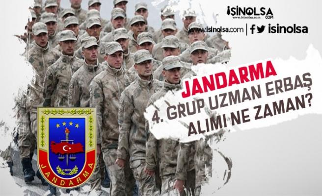 jandarma Genel Komutanlığı 4. Grup Uzman Erbaş Alımı Çağrısı Ne Zaman Yapılacak!