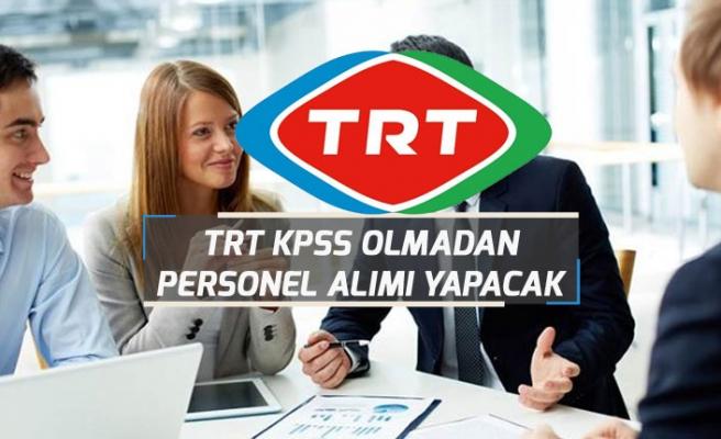 TRT KPSS Olmadan 5 Kadroda Personel Alım İlanı Açıkladı!