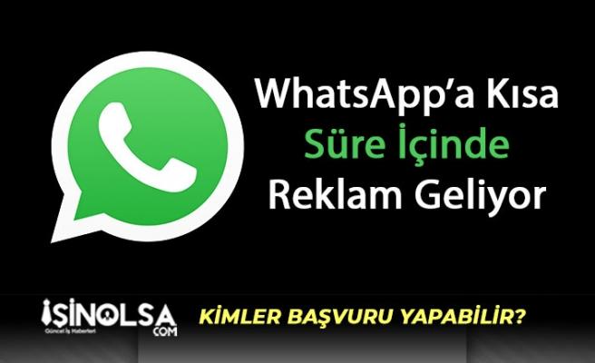 WhatsApp Durum Bölümünde Reklamlar Yayınlanmaya Başlıyor