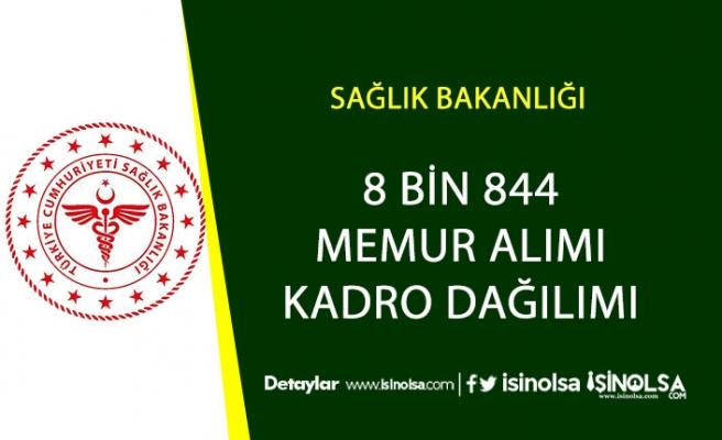 8 Bin 844 Memur Alımı Tüm Kadro Dağılımları Açıklandı!