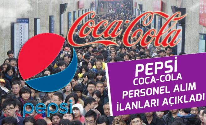 Coca-Cola ve Pepsico Çok Sayıda Personel Alım İlanları Açıkladı!