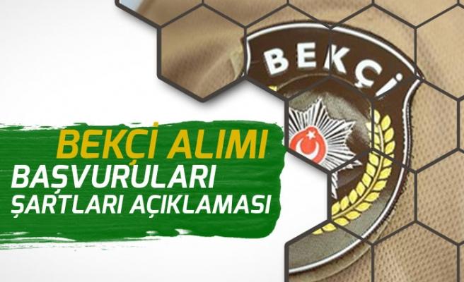 EGM ve Polis Akademisinden Bekçi Alımı Başvuru Şartları ile Eğitim Düzeyleri Açıklaması