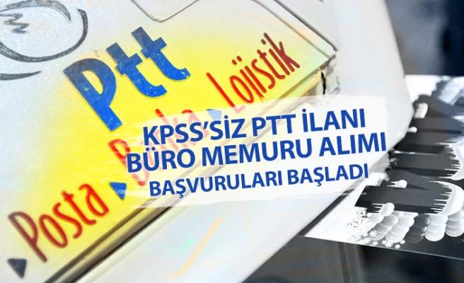 KPSS'siz PTT İlanı; Otoyol Acentesi Büro Memuru Alımı Yapacak!