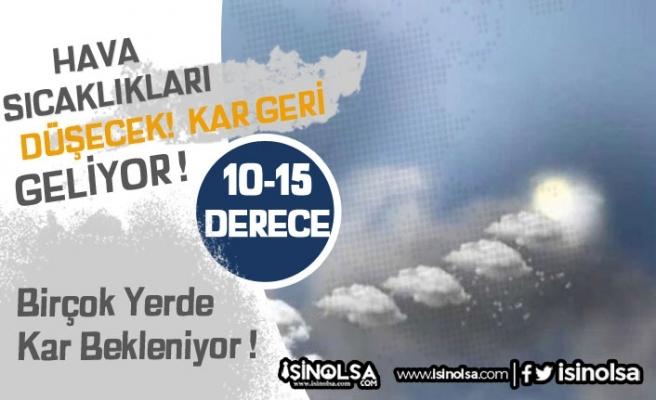 Meteoroloji Uyardı! Türkiye Geneli Yağış ve Soğuk Uyarısı!