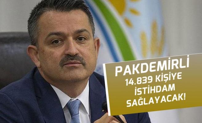 Tarım Bakanlığına 14 Bin 839 Memur Personel Alımı Açıklaması! Başvurular Ne Zaman?