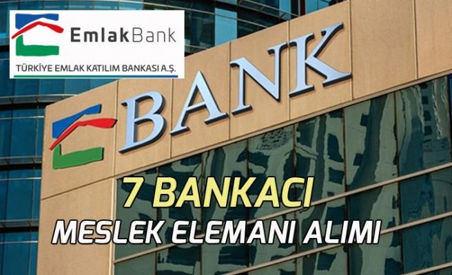 Türkiye Emlak Katılım Bankası 7 Bankacı Meslek Elemanı Alımı Yapacak!
