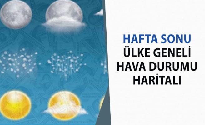 Türkiye Geneli 29 Şubat - 1 Mart Hafta Sonu Hava Durumu!