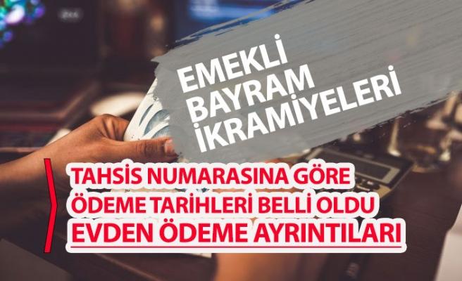 Emekli Bayram İkramiyesi Tahsis Numarasına Göre Ödeme Takvimi Açıklandı!