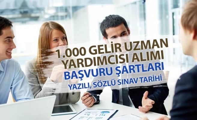 Hazine Bakanlığına 1000 Gelir Uzmanı Alınacak! Başvuru Şartları ve Sınav Tarihi!