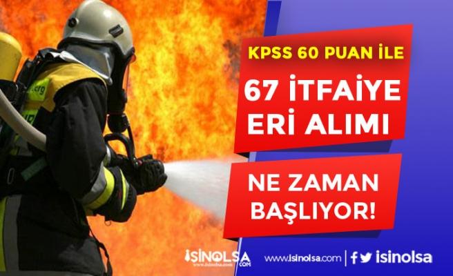 Sivas Belediyesi 67 Memur ( İtfaiye Eri ) Alımı Başvuruları Ne Zaman? İstenen Belgeler?