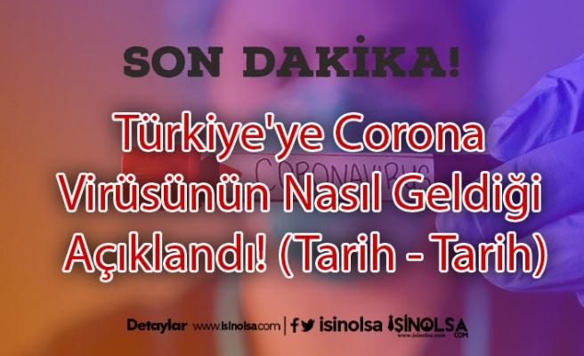 Türkiye'ye Corona Virüsünün Nasıl Geldiği Açıklandı! (Tarih - Tarih)