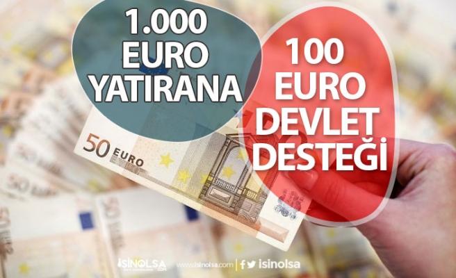 BES'te Devlet Katkı Payı Arttı! 1000 Euro Yatırana Devlet 100 Euro Verecek!