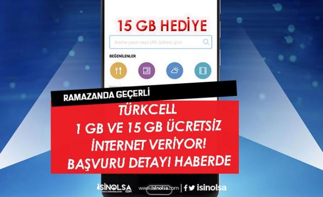 Türkcell Ramazan Paketi Ücretsiz 1 GB İnternet Başvurusu Nasıl Yapılacak!
