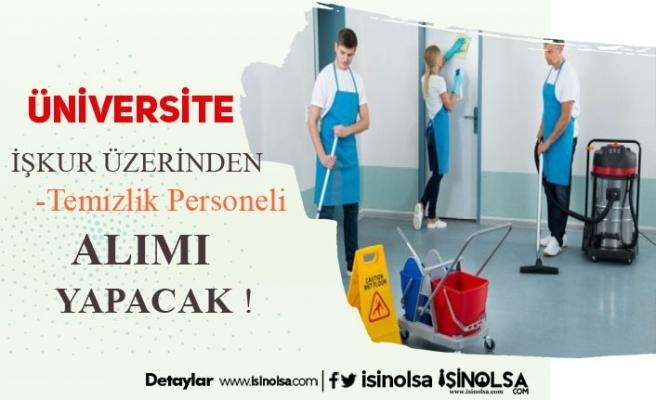 Kırklareli Üniversitesi Kura ile 14 Temizlik Görevlisi Alacak!