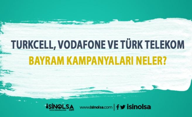 Turkcell, Vodafone ve Türk Telekom Ramazan Bayramı Bedava GB İnternet Kampanyaları