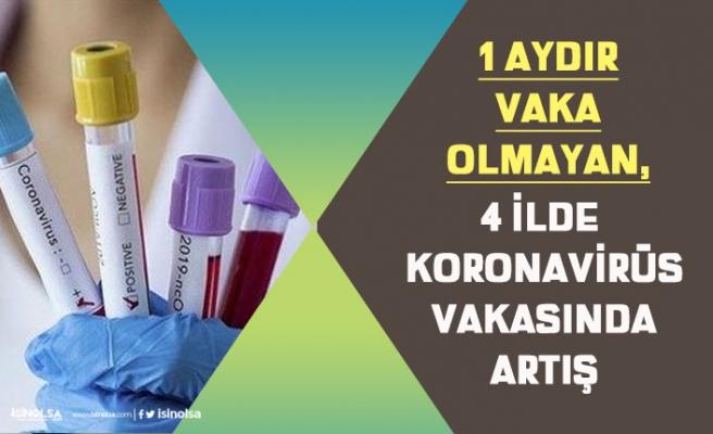 Uzun Zamandır Vaka Yaşanmayan 4 İlde Koronavirüs Vakası Artmaya Başladı!