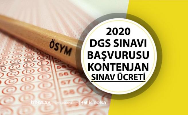 2020 DGS Başvuru Tarihleri, Ücreti, Hukuk, Mühendislik Kontenjanları Açıklandı!
