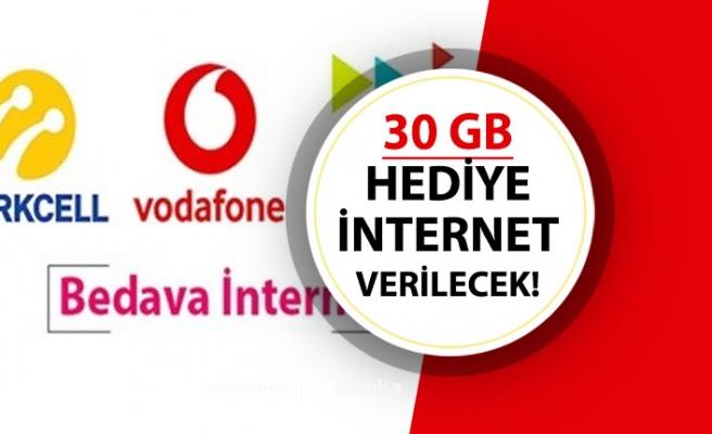 30 GB İcretsiz İnternet Hediyesi! GSMOperatöründen Bedava İnternet!