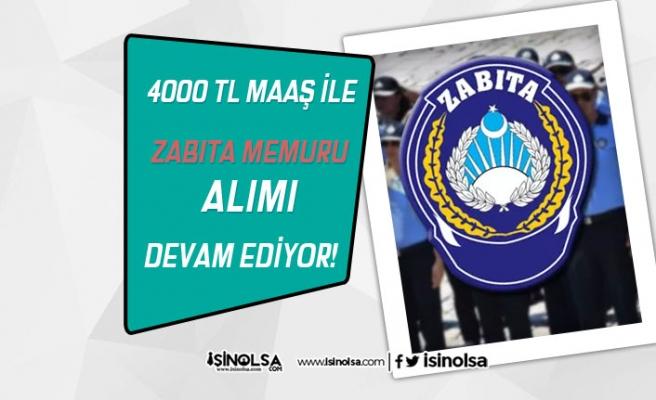 Bingöl Belediyesi 4000 TL Maaş İle 16 Zabıta Memuru Alımı Devam Ediyor!
