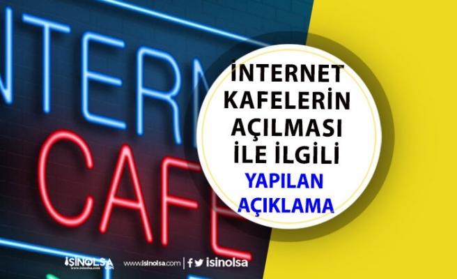 İnternet Kafeler Ne Zaman Açılacak? 1 Temmuzdan Önce Açılır mı?