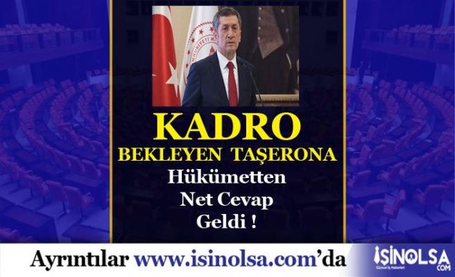 Kadro Bekleyen Taşerona Hükümetten Cevap!