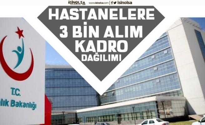 Yeni Açılacak Hastanelere 3 Bin Personel Alımı Kadroları ve Başvuru Şartları!