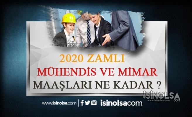 2020 Kamuda Temmuz Ayı Zamlı Mimar ve Mühendis Maaşları Ne Kadar Oldu?