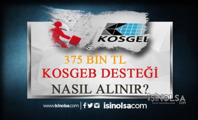 375 Bin TL Devlet Desteği ile Herkes Kendi İşini Kurabilir!
