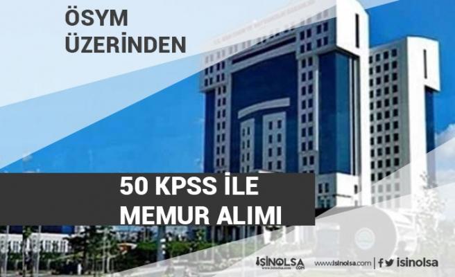 50 KPSS İle Tarım ve Orman Bakanlığı Personel Alımı Yapacak!