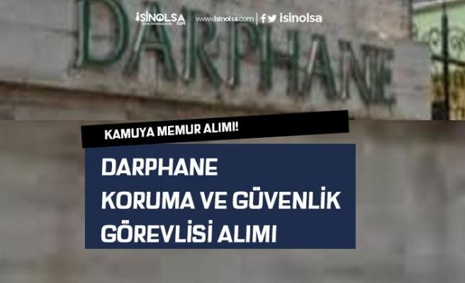 İŞKUR'dan Darphaneye Koruma ve Özel Güvenlik Görevlisi Alımı