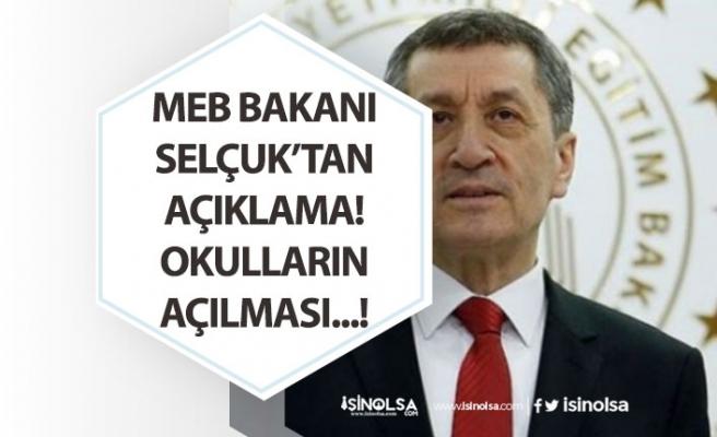 Okullar Ne Zaman Açılacak? MEB Bakanı Selçuk'tan Çocukların Kaygılarına Yönelik Öneri!