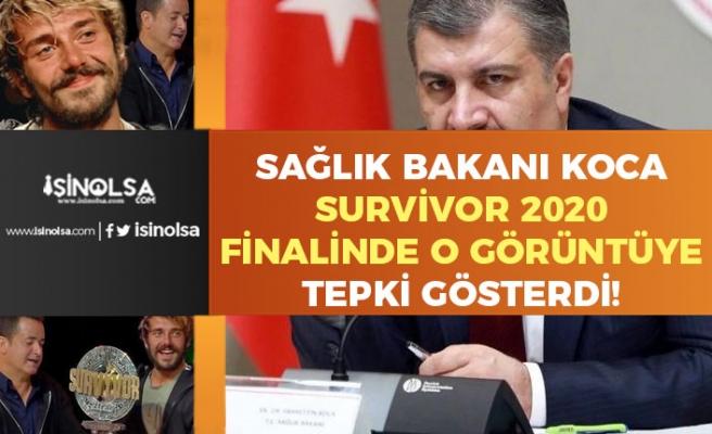 Sağlık Bakanı Fahrettin Koca Survivor 2020 Finalindeki O Görüntülere Tepki!
