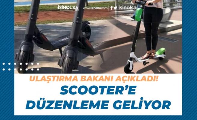 Ulaştırma Bakanı Açıkladı. Scooter'e Yasal Düzenleme Geliyor!