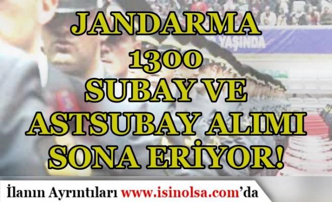 Jandarma 1300 Subay ve Astsubay Alımı Sona Eriyor! Sonuçlar Ne Zaman?