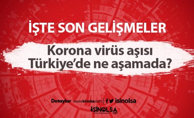 Korona virüs aşısı Türkiye'de ne aşamada? Aşı ne zaman çıkacak?