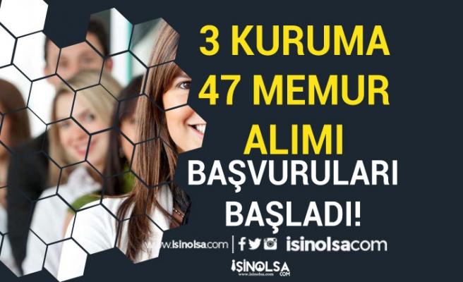 KVKK, HAK ve Sultangazi Belediyesi 47 Memur Alımı Başvuruları Başladı!