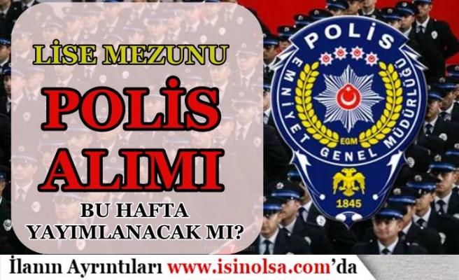 PMYO Polis Alımı Bu Hafta Yayımlanacak Mı? 2020 Taban TYT Puanı Belli Oldu Mu?