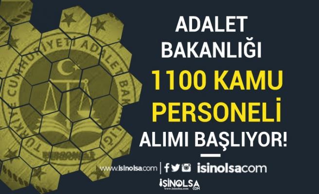 Adalet Bakanlığı 1100 Kamu Personeli Alımı Başvurusu Başlıyor! Nasıl Başvuru Yapılır?