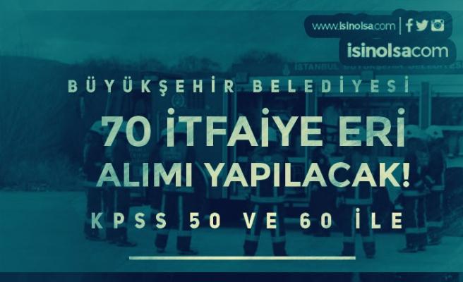 Büyükşehir Belediyesi 50 ve 60 KPSS İle Memur Alımı Yapacak! Lise ve Ön Lisans
